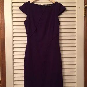 Marc New York by Andrew Marc purple sheath dress